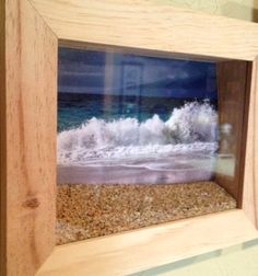 Bring home the beach with a Diorama Box. Amazing creative ideas and tutorials.