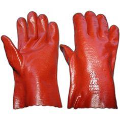 "PVC Open Cuff Gloves, 11"""