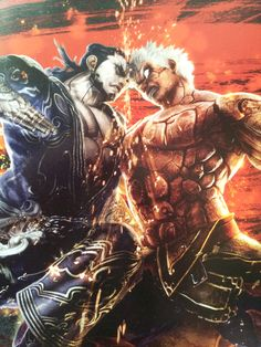 Asura's Wrath concept art