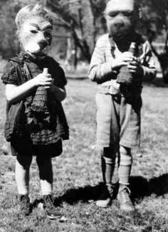 Dog face kids