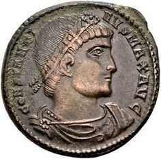 Roman Empire – Constantine the Great (307-337 A.D), AE Follis Constantinople 328-329