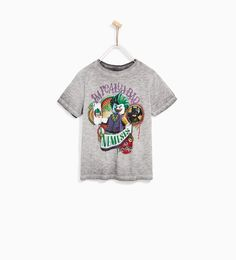 ZARA - KIDS - LEGO JOKER T-SHIRT