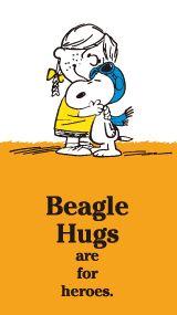 SNOOPY.co.jp : SNOOPY'S BEAGLE HUG