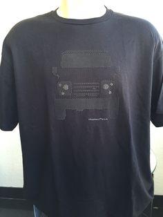 Dots Collection Black Print on a Black Tshirt