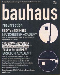 Bauhaus 1998 resurrection