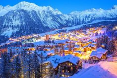 Courchevel 1850 ski resort