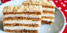 Makrancos szelet liszt nélkül - Vanilla Cake, Tiramisu, Ethnic Recipes, Food, Essen, Meals, Tiramisu Cake, Yemek, Eten