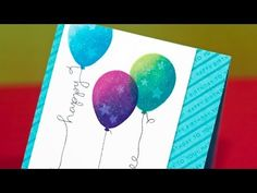 Two-Tone Stamping & Simon Says Stamp Video Hop - YouTube