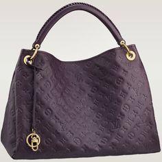 Louis Vuitton Artsy MM Aubergine/Purple #Louis #Vuitton #Artsy