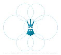 Seagear Poseidon brand icon on Behance Best Logo Design, Graphic Design, Diving School, Brand Icon, Cool Logo, Egypt, Identity, Behance, Concept