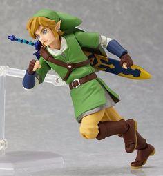 The Legend of Zelda: Skyward Sword Link Figma Action Figure – Otakupicks