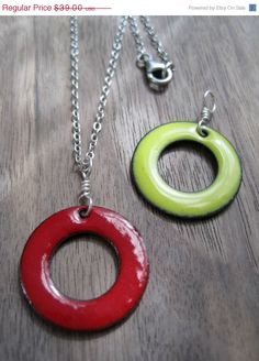 SALE TODAY The Positivity Circle Reversible Necklace by Steinvika, $33.15