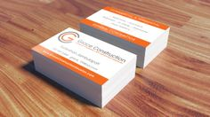 Construction business cards to bring your dream design into your grace construction business card designed printed by alphagraphics sugar land reheart Images