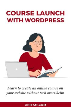 in the market to create you own online course? Learn how to create an online course on WordPress, what the benefits are versus hosting on course platforms, and how to get started. #onlinecourse #courselaunch #WordPressCourse #diycourse #WordPress #WebWeek #WebDesign #WebMentor #CourseCreator #tutorial #ladyboss #passion2profit #layout2launch #solopreneur #Layout2Launch #LearnWithAnitaM #anitam.com Diy Courses, Online Courses, Creative Business, Business Tips, Passion Project, Business Entrepreneur, Instagram Tips, Online Marketing, How To Start A Blog