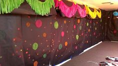 glow in the dark Graduation/End of School Party Ideas | Photo 1 of 12 | Catch My Party