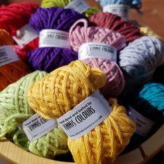 Vinnis Nikkim Mini Skeins Crochet Classes, Crochet Projects, Cape Town, Colours, Mini, Food, Essen, Meals, Yemek