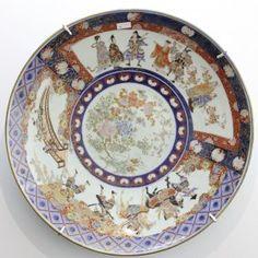 19世紀 日本 の 大 お皿 19th Century Large Japanese Plate