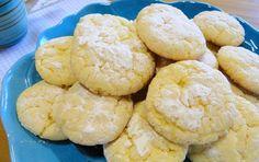 Cookies de limão