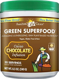 Amazing Grass Chocolate Drink Powder, Green Superfood, 8.5-Ounce Container has been published at http://www.discounted-vitamins-minerals-supplements.info/2013/05/20/amazing-grass-chocolate-drink-powder-green-superfood-8-5-ounce-container/