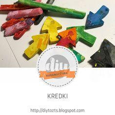 DIY - zrób to sam : METAMORFOZA - KREDKI Diy, Bricolage, Do It Yourself, Homemade, Diys, Crafting