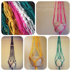 Assorted Macramé Hangers