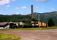 garibaldi oregon smoke stack | The Train by Garibaldi by The-fox-magician