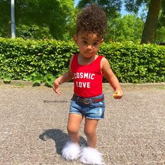 Are you wearing my house shoes girl? Cute Mixed Babies, Cute Black Babies, Black Baby Girls, My Baby Girl, Little Babies, Baby Kids, Baby Swag, Kid Swag, Swag Swag