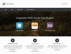 free responsive wordpress themes vantage