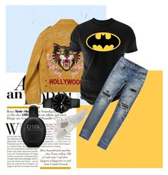 """treat your girl better than before, boy!"" by mo0dstylish on Polyvore featuring Gucci, Changes, AMIRI, Lacoste, adidas, Calvin Klein, men's fashion and menswear"