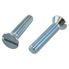 """10/24 X 5"""" Flat Head Slotted Machine Screws (Box of 100) by Greschlers Inc.. $24.00. 10/24 X 5"""" Flat Head Slotted Machine Screws (Box of 100)"""