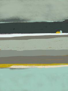 Brume, paysage abstrait
