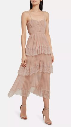 Bridal mini dresses are a statement-making trend that's here to stay. So we've researched the best short wedding dresses for the modern bride. Self-Portrait Chiffon Lace-Trimmed Dress