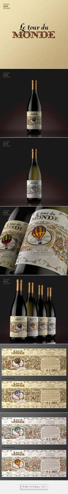 Le Tour De Monde - Packaging of the World - Creative Package Design Gallery - http://www.packagingoftheworld.com/2016/07/le-tour-de-monde.html