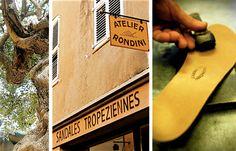 Découvrez le Site internet créé par l'Agence Sweep pour Rondini, fabricant de véritables sandales tropéziennes depuis 1927 à Saint-Tropez. #sainttropez #sandales #site