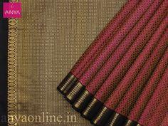 Pure Kanchipuram Wedding Silk Saree Anya Online Shopping