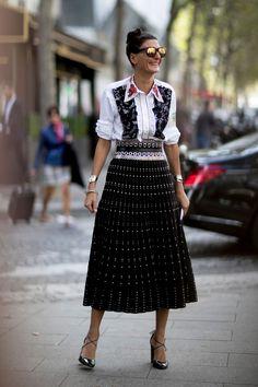 Street Style at Paris Fashion Week | ZsaZsa Bellagio - Like No Other