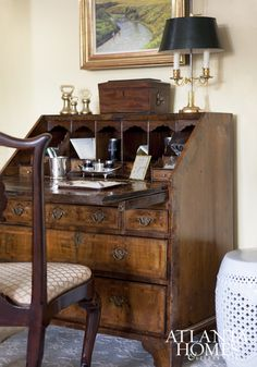 Secretary desks are more than just a plce to wirte a letter. They are focal points in small rooms, a visually pleasing organizer and a beautiful gift from days gone by.