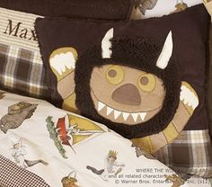 Where the Wild Things Are Decorative Pillow #PotteryBarnKids