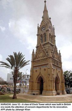 Pakistan Clock Tower  by Jahangir