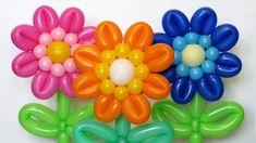 Герберы из шаров / Gerbera flower of balloons (Subtitles)
