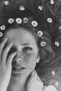 Flowers in Her Hair: Braids   Blooms