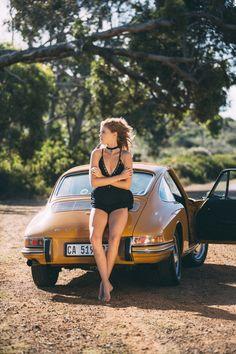Vintage Porsche + Gorgeous Model = One Hell Of A Photo Set