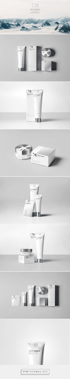 Helvance Swiss Cosmetics Packaging by Adin Eli de Gunzbourg | Fivestar Branding Agency – Design and Branding Agency & Curated Inspiration Gallery