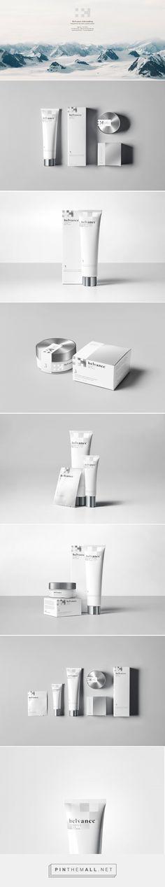 Helvance Swiss Cosmetics Packaging by Adin Eli de Gunzbourg | Fivestar Branding Agency – Design and Branding Agency & Curated Inspiration Gallery