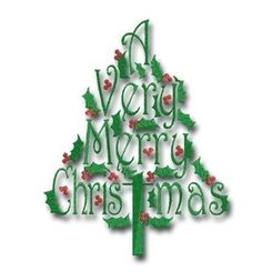A Verry Merry Christmas tree - 4 4x4, 5x7, 6x10  This beautiful machine embroidery design has been perfectly digitized and is absolutely stunning. With its fun and fancy font it will be exactly what your next holiday project needs to be perfectly embellished.       ******************* Please note – these are digitized embroidery designs and monogram fonts. They are not patches that you sew on. You must have an embroidery machine to work with these files and a way to transfer the files from…