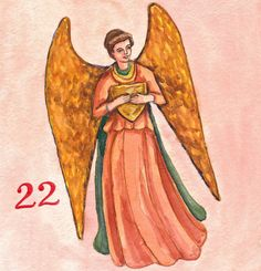 Advent/Christmas calendar 2016 by Jeanne Conway Illustrations