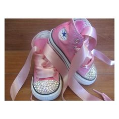 the farrr futureee / Bedazzled converse for a little girl - Great wedding idea