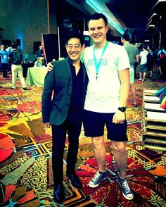 With Grant Imahara