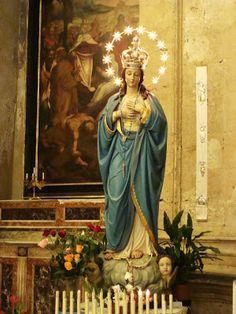 Palermo l'Immacolata Concezione della Chiesa di Santa Maria La Nova