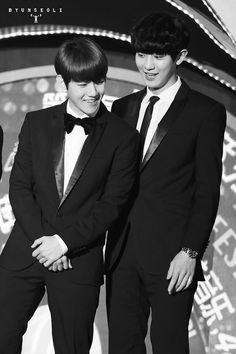 Chanyeol and Baekhyun (ChanBaek) | 141213 8th Migu Wireless Music Awards in Shenzhen